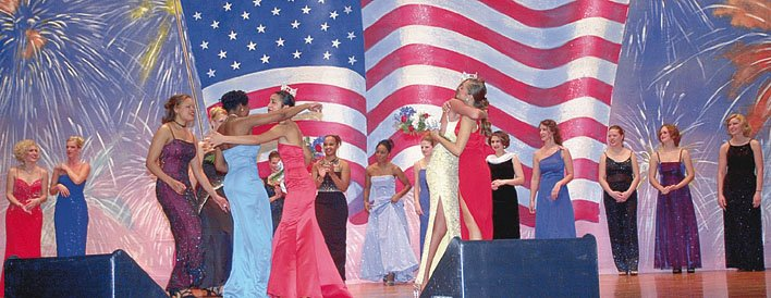 Conclusion of the Miss Central Pennsylvania Pageant