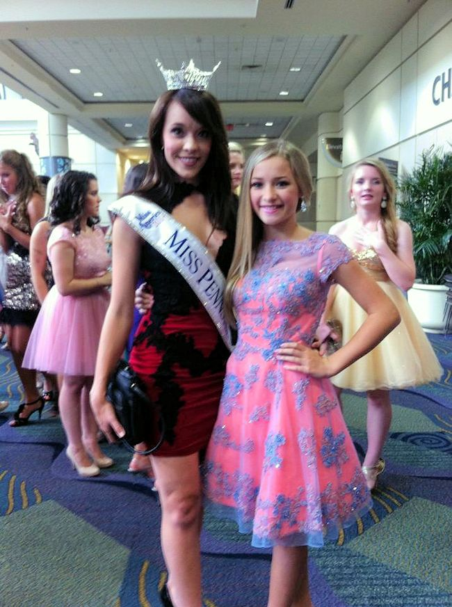 You have Miss pa outstanding teen 2010 with you