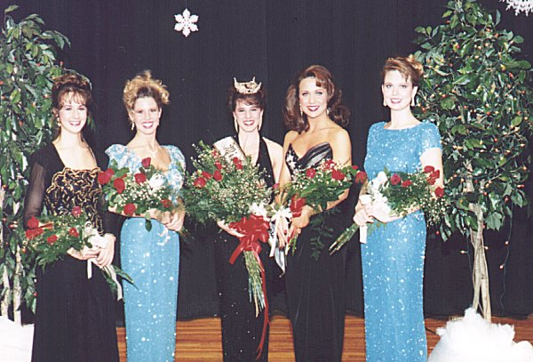 Miss Central Pennsylvania 1994 and Her Court